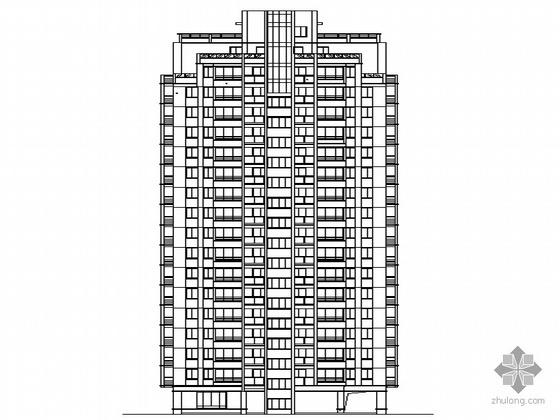 [温州]某大型住宅区住宅楼群建筑施工图