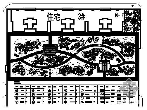某住宅楼屋顶花园设计
