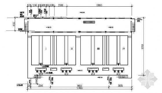 某市污水处理厂V型滤池施工图