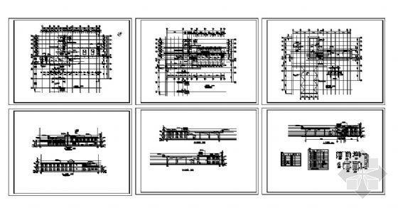 某二层加油站建筑施工图-4