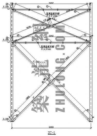 钢结构节点cad格式详图