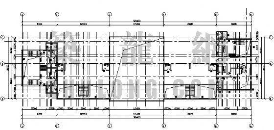 某售楼部轻钢结构图纸