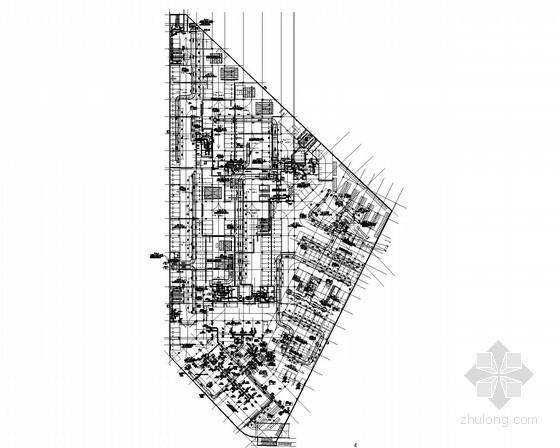 [江苏]多栋多层商业建筑空调通风系统施工图(水环热泵原理图多)
