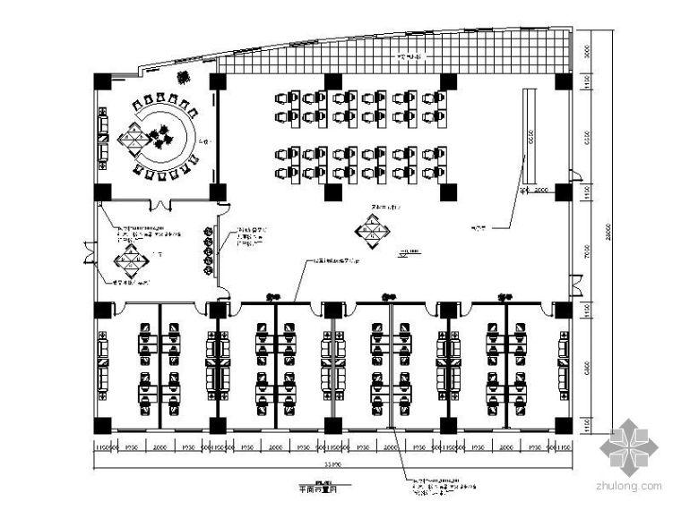 308㎡网吧设计装修图