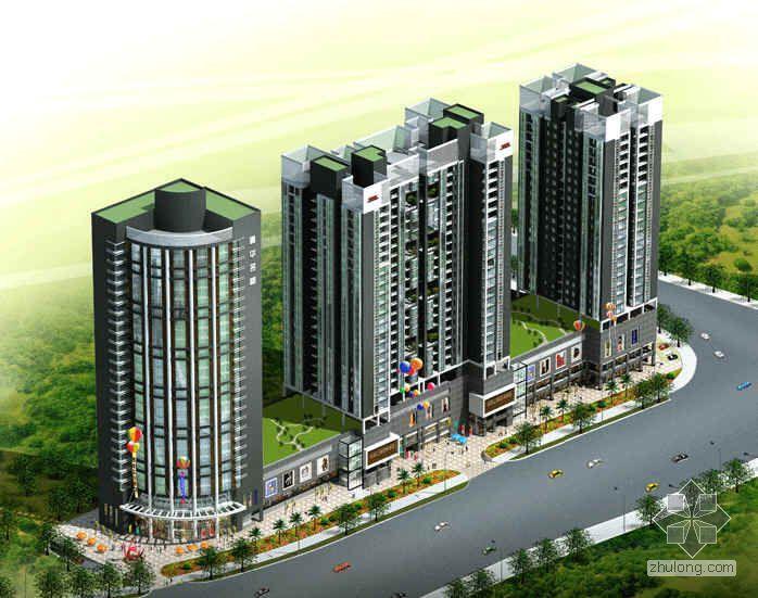 [长沙北城]某居住商业多功能城市综合体总体规划及建筑设计分析