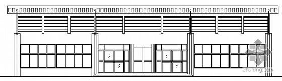 [沂水]某单层酒店建筑设计扩初图