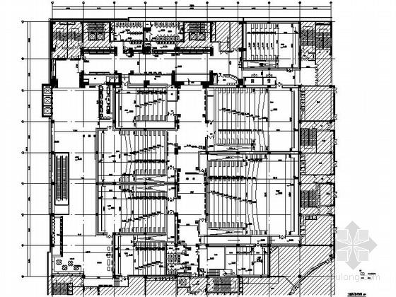 vip休息室平面图资料下载-[山东]某知名国际电影院室内装修施工图