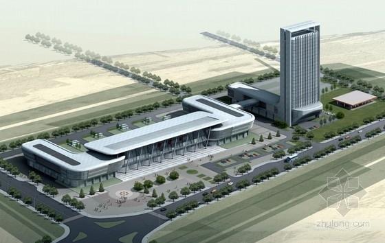 [山东]大型客运中心建筑设计方案文本