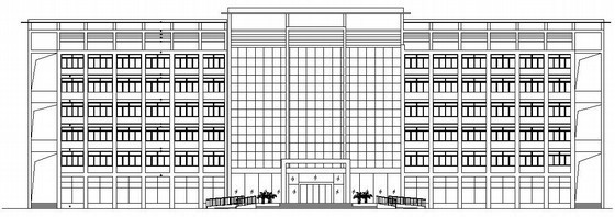 四层办公楼装修设计电气部分施工图纸