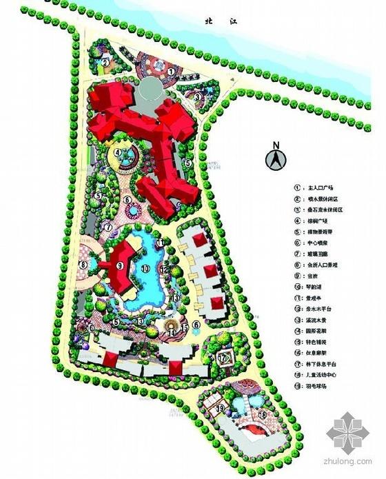 小区景观概念设计图