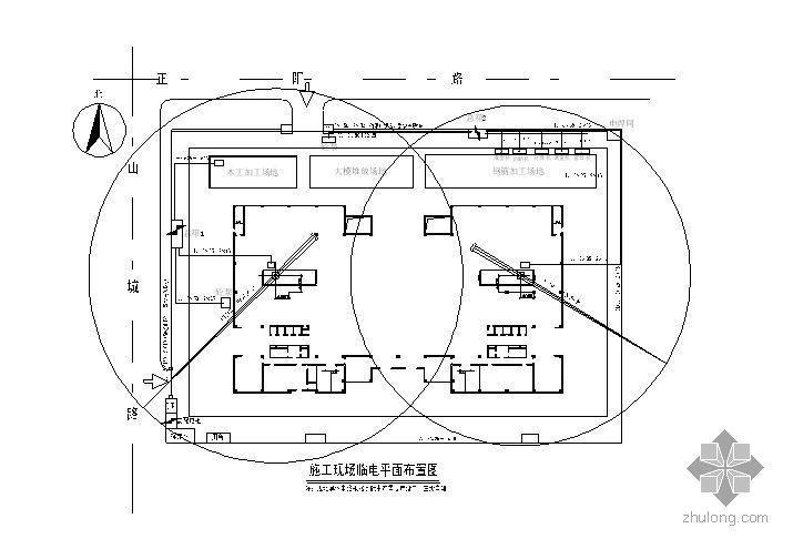 青岛某高层办公楼临电施工方案(三相五线制)