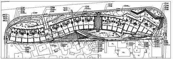 某住宅区局部组团绿地景观设计施工图