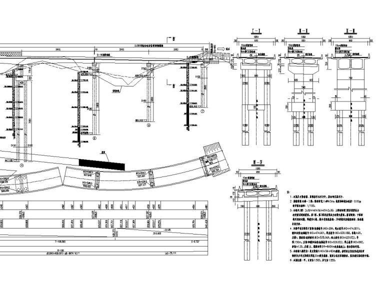 [山西]预应力混凝土现浇连续箱梁桥施工图设计101张