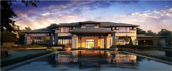 [江苏]新古典风格住宅规划设计方案文本
