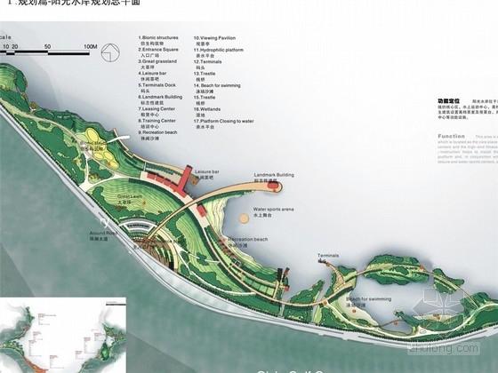 [浙江]滨水风景名胜区景区景观规划设计方案