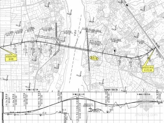 [湖南]重交通二级公路路基路面施工图(159页 含交通设施)