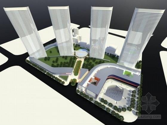 [江西]高档住宅区及集中商业规划设计方案文本(造型奇特 110余页图纸)
