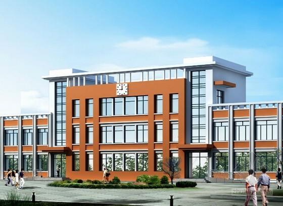 [毕业设计]教学楼土建工程量清单预算控制价(全套标底)
