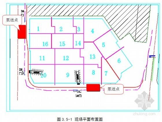 购物广场工程混凝土专项施工方案