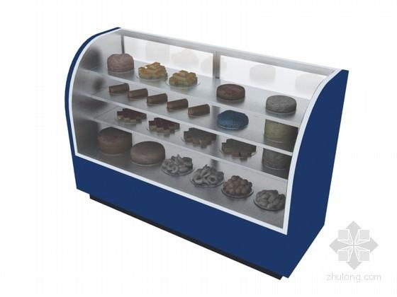 食品柜3D模型下载