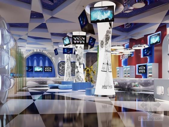 影院大厅3D模型下载