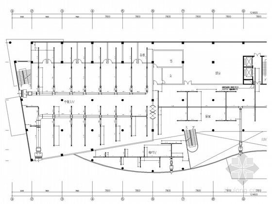 [广东]高层商务酒店通风空调系统设计施工图(吊挂式空调机组)
