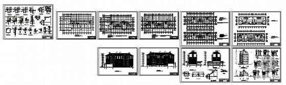 [江西]某住宅楼建筑结构图