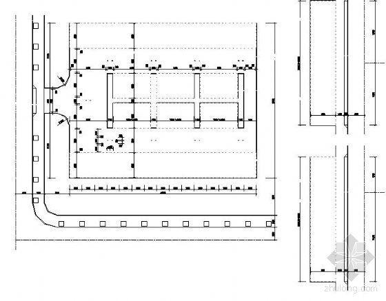 河北某学校停车场施工图