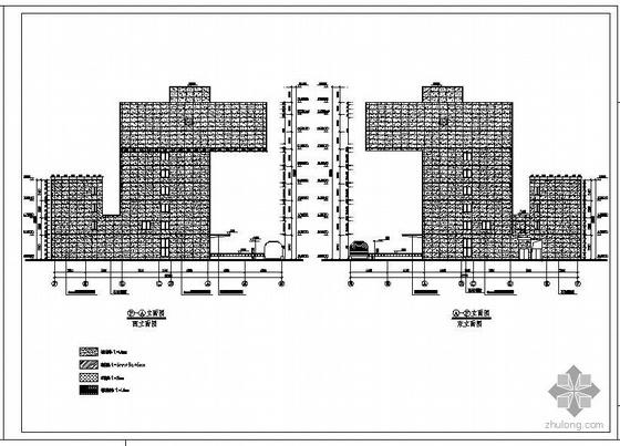 山东某办公楼幕墙工程设计图(含计算书)