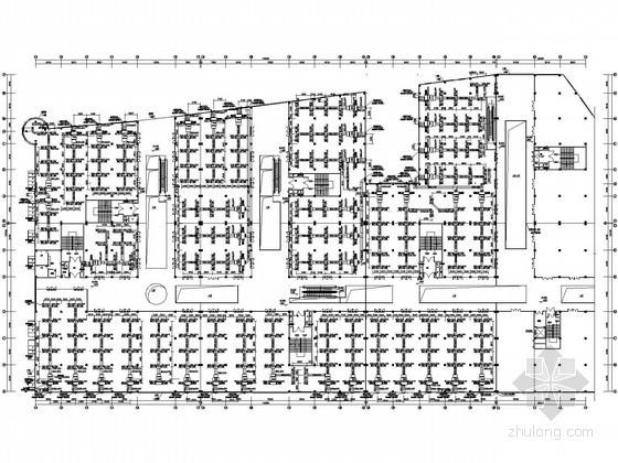 [上海]大型购物中心空调通风设计施工图
