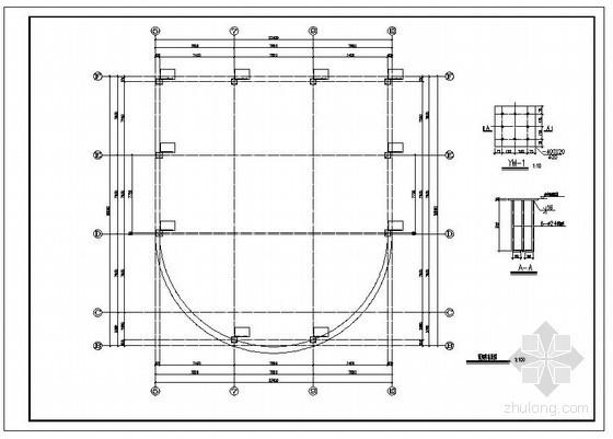 某网架结构设计图