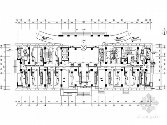 挥中心空调通风附属施工图(设计图纸地下室人rfcb里用房表示在图片