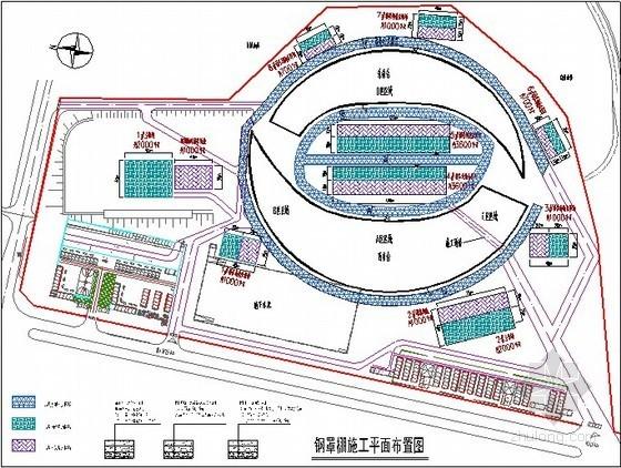 [贵州]体育场钢罩棚管桁架结构施工组织设计(鲁班奖)
