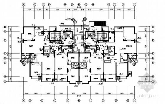 二十六层住宅楼给水排水施工图