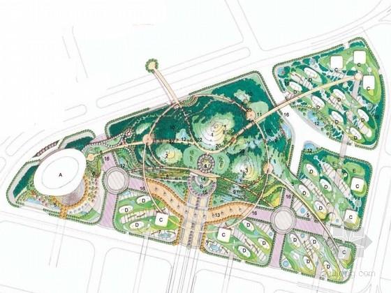 [武汉]美丽纯净的自然生态公园景观规划方案
