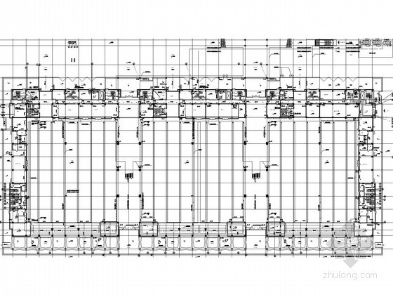 [宁夏]大型会展中心给排水消防施工图(虹吸雨水系统)