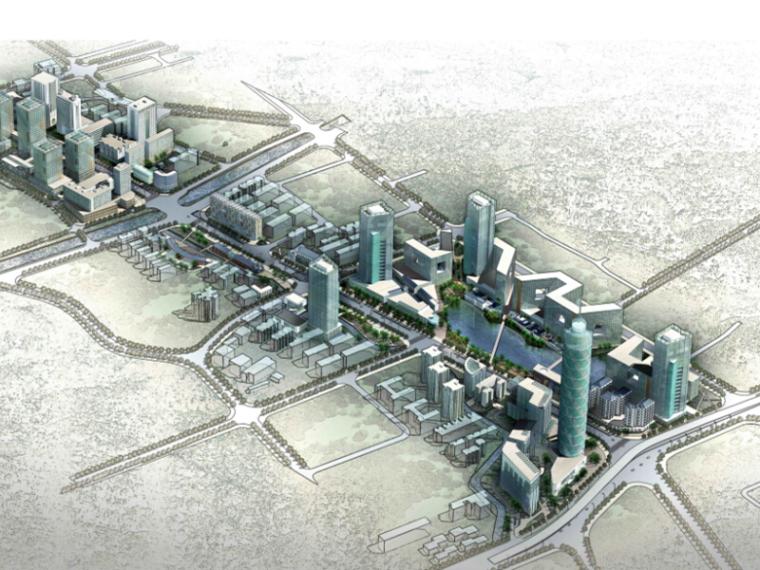 [福建]城市中心街区改造景观规划方案设计(2套)