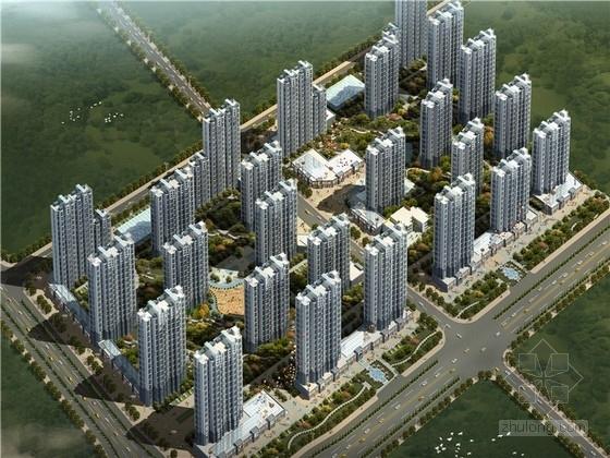 [山西]现代风格住宅小区规划设计方案文本(2个地块)