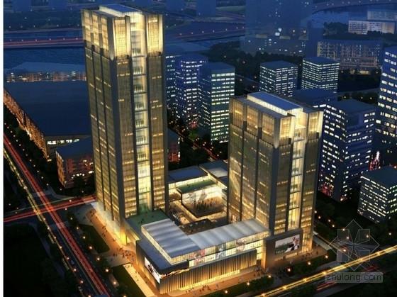 UA设计院居住区文本资料下载-[四川]超高层金融办公大厦建筑设计方案文本(知名设计院)