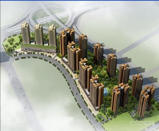 成都高层住宅cad资料下载-[成都]现代artdeco风格高层住宅建筑设计方案文本(知名设计院)