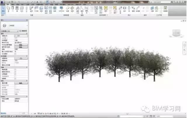 Revit栏杆扶手快速创建道路树木或路灯的技巧_4