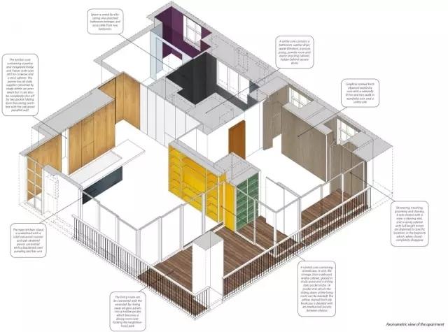 秒杀别墅的神改造,八十平米小户型两室一厅装修案例_11