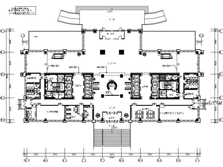 [乌鲁木齐]大型国有企业现代简约办公楼室内设计施工图