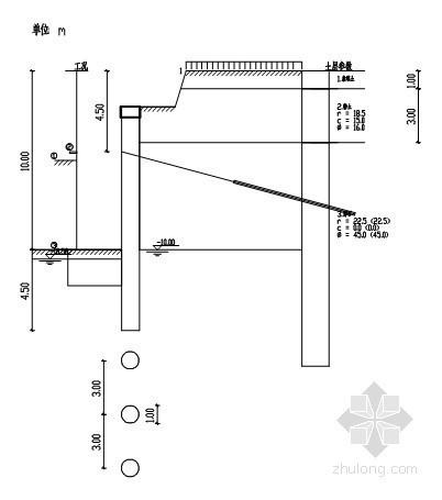 [四川]10米深基坑桩锚支护施工方案(含计算书)