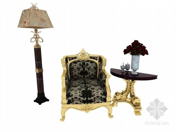 欧式家具模型资料下载-欧式家具3D模型下载