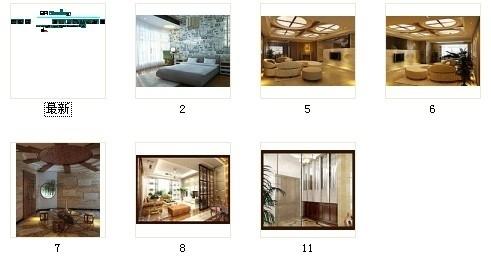 [无锡]滨湖知名地产现代五居室装修图(含效果)资料图纸总缩略图