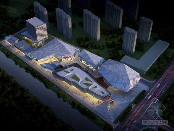 [上海]现代风格商业综合体设计方案文本