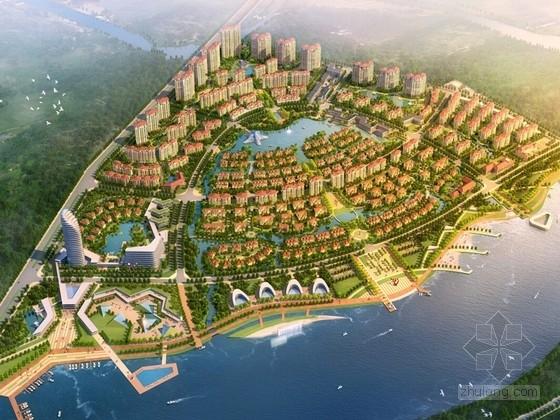 [河北]住宅及商业区规划设计规划方案文本
