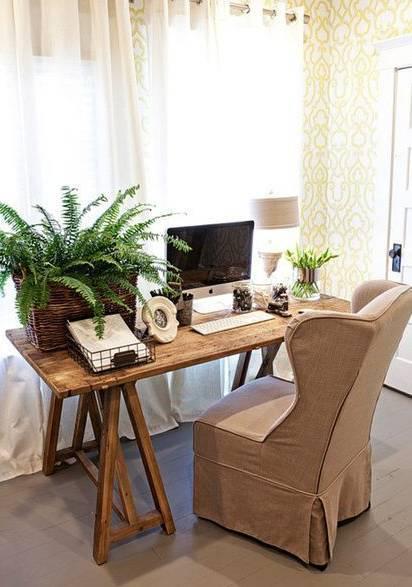 室内设计|N款工作间与书桌,看一眼就为之着迷!_7