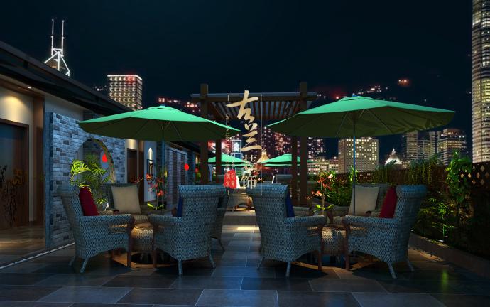 《爱润港海鲜酒楼》-资阳酒楼装修设计公司,资阳酒楼设计公司